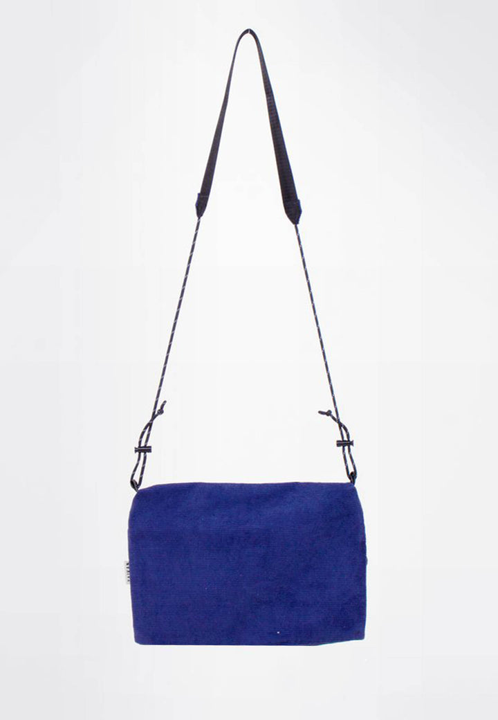 Sacoche Bag Large - navy corduroy