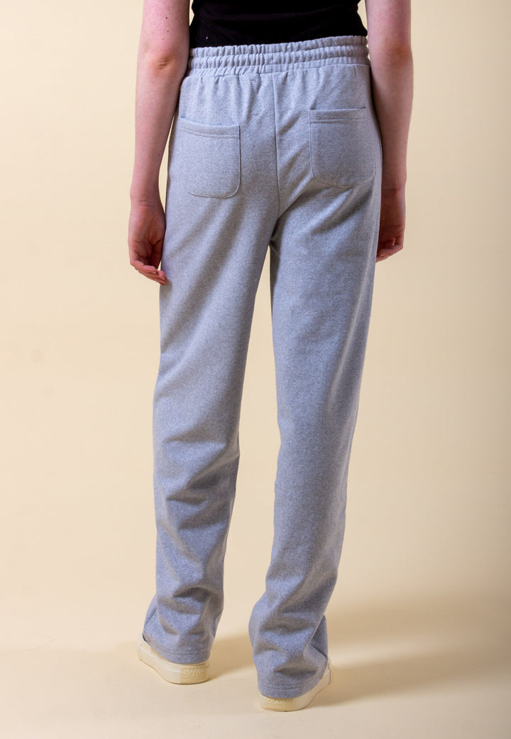 Seam Front Joggers - grey marle