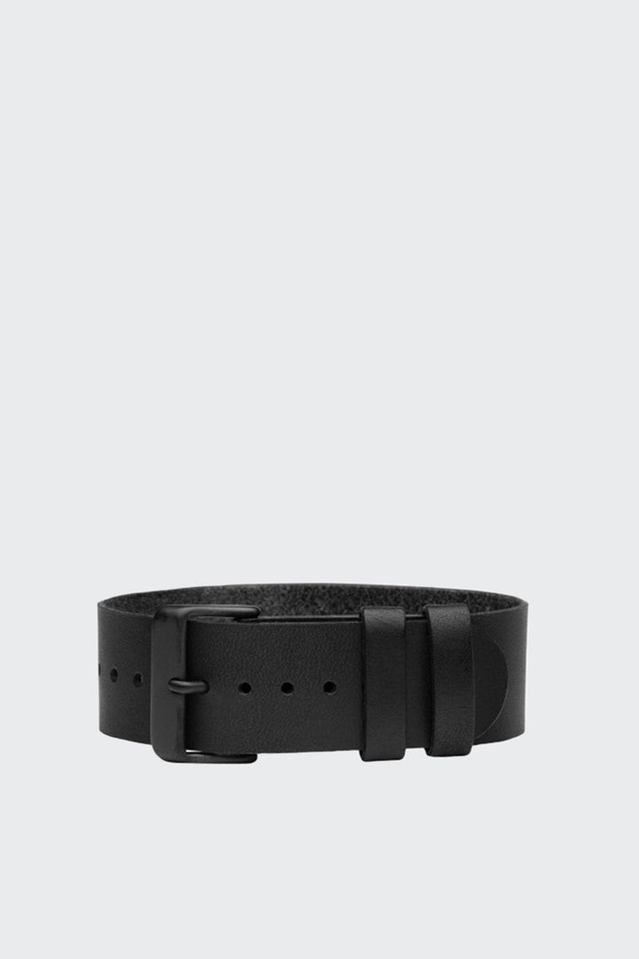TID Watches Wristband - black leather | GOOD AS GOLD | NZ