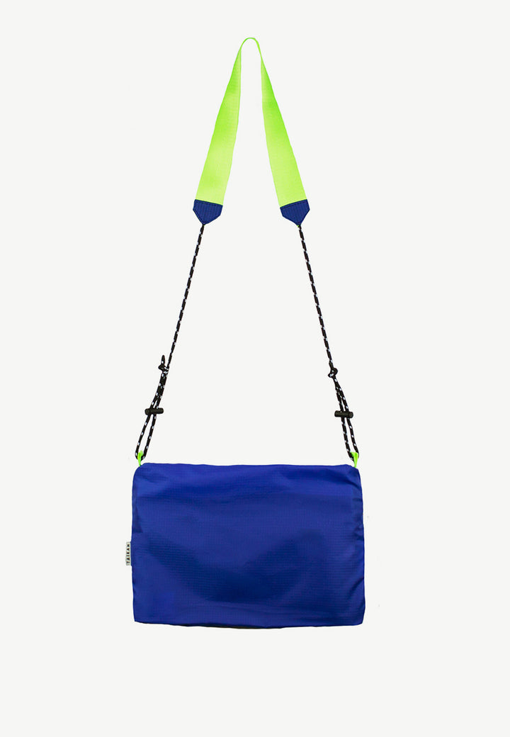 Sacoche Bag Large - white/blue/yellow