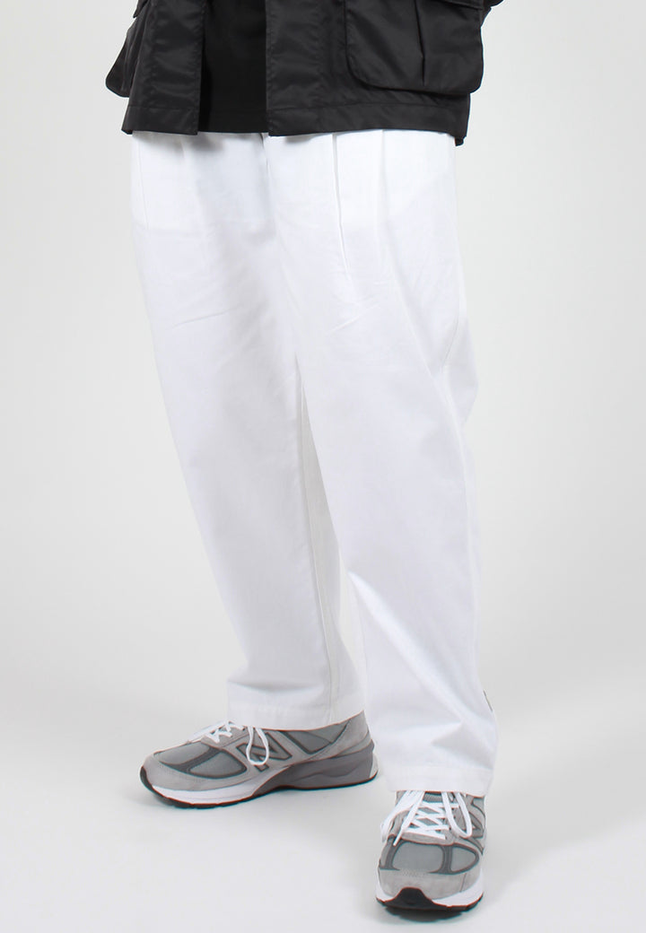 Maharishi Loose Chino Pants - white