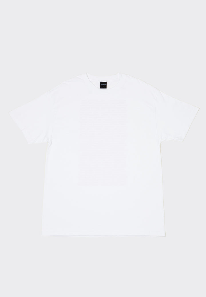 Text T-Shirt - white/pink