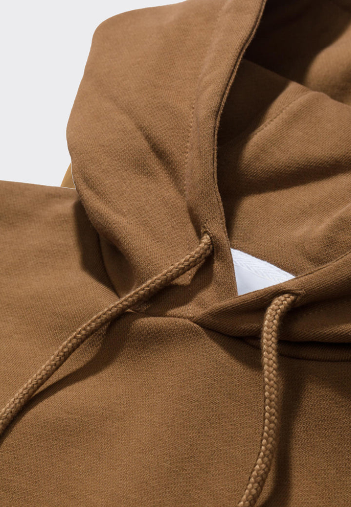 Vagn Embroidered Logo Hoodie - duffle