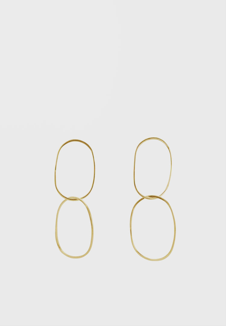 WOS Carin Earrings - gold - Good As Gold