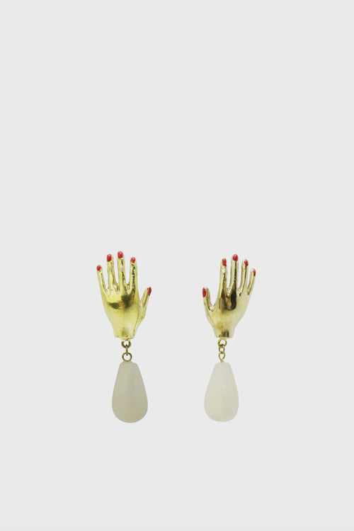 WOS Hei Earrings - brass - Good As Gold