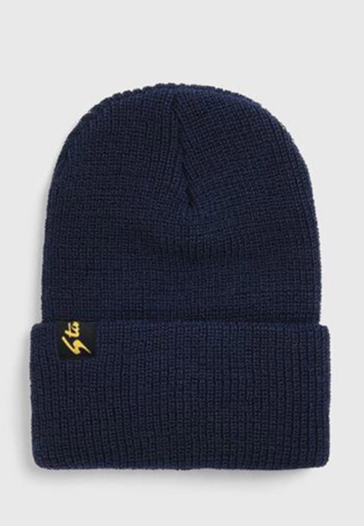 Watchcap beanie - navy wool