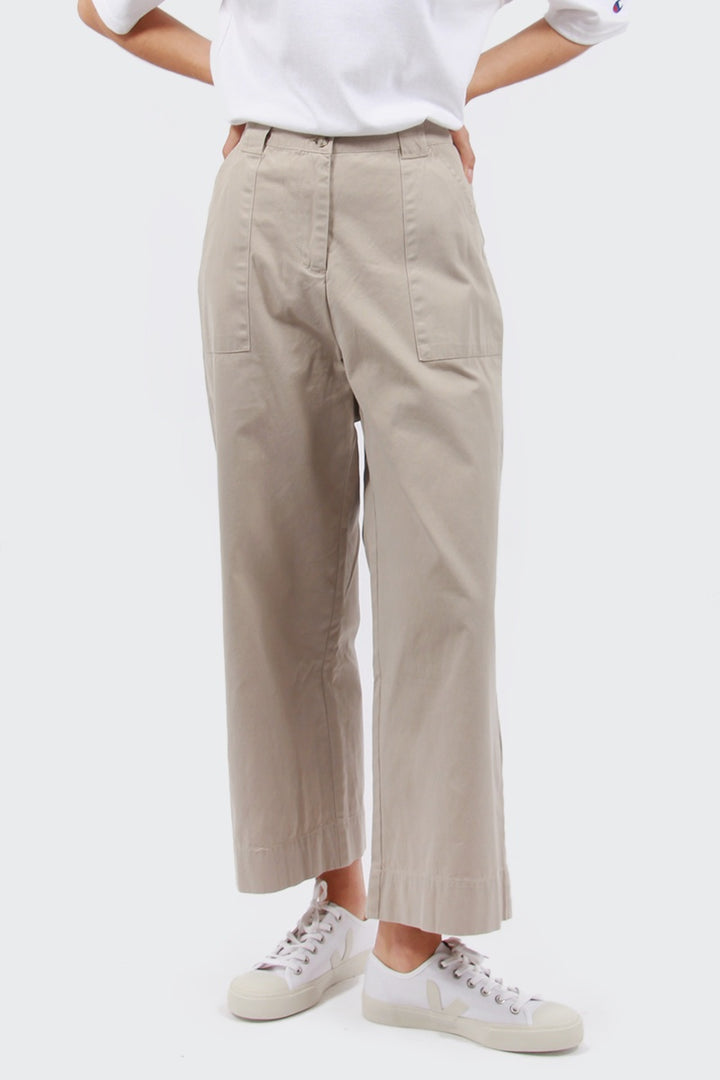 Native Youth Coast Pant - stone | GOOD AS GOLD | NZ