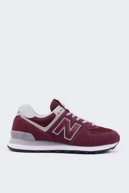 New Balance Womens 574 Classic - burgundy/white | GOOD AS GOLD | NZ