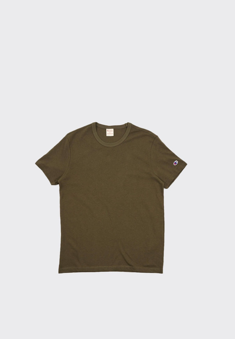 Europe Crewneck T-Shirt - dusty olive