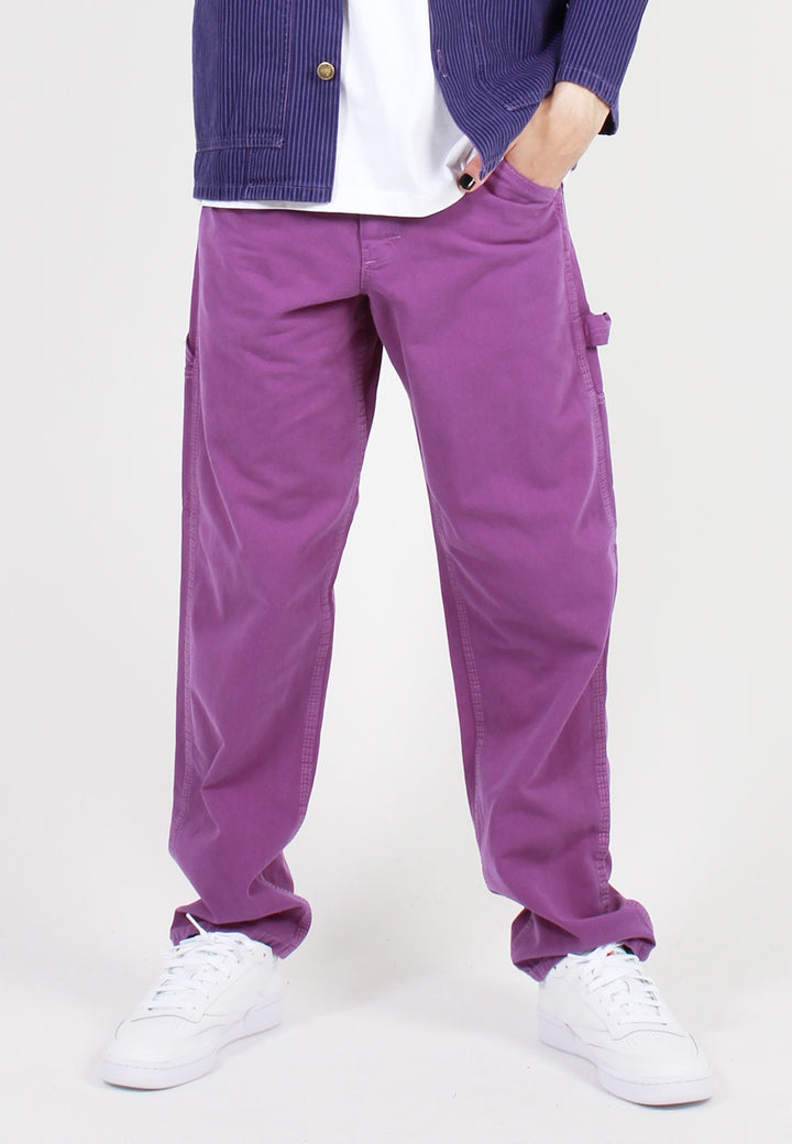 Painter Pant Overdye - decade purple
