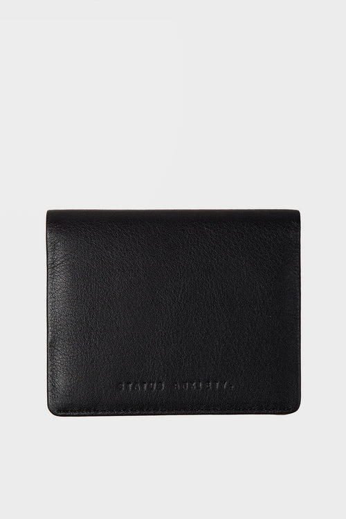 Status Anxiety Lennen Wallet - black - Good As Gold