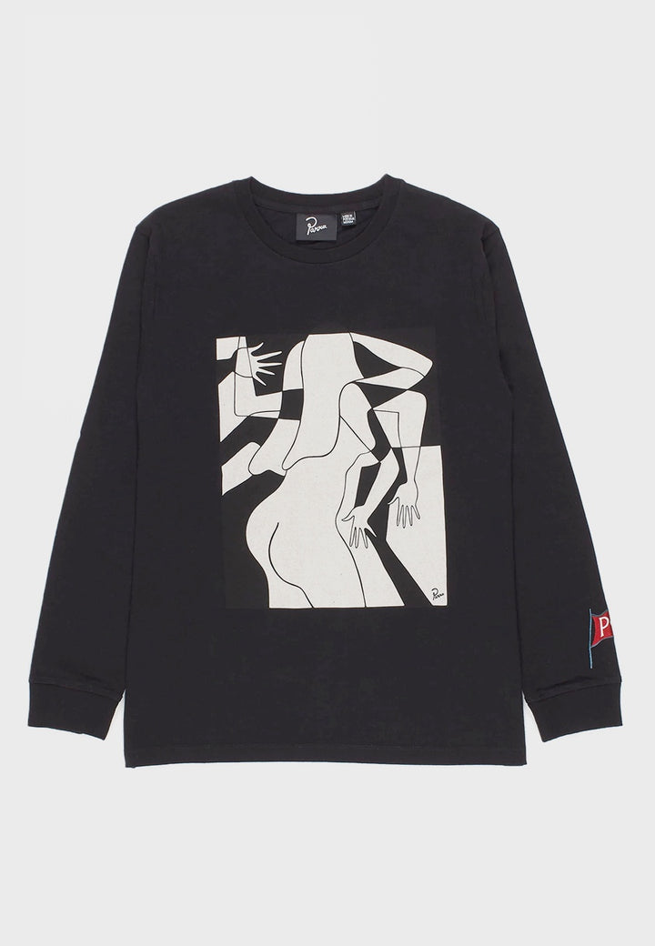 Parra | Artist Businesswoman Long Sleeve - black | Good As Gold, NZ