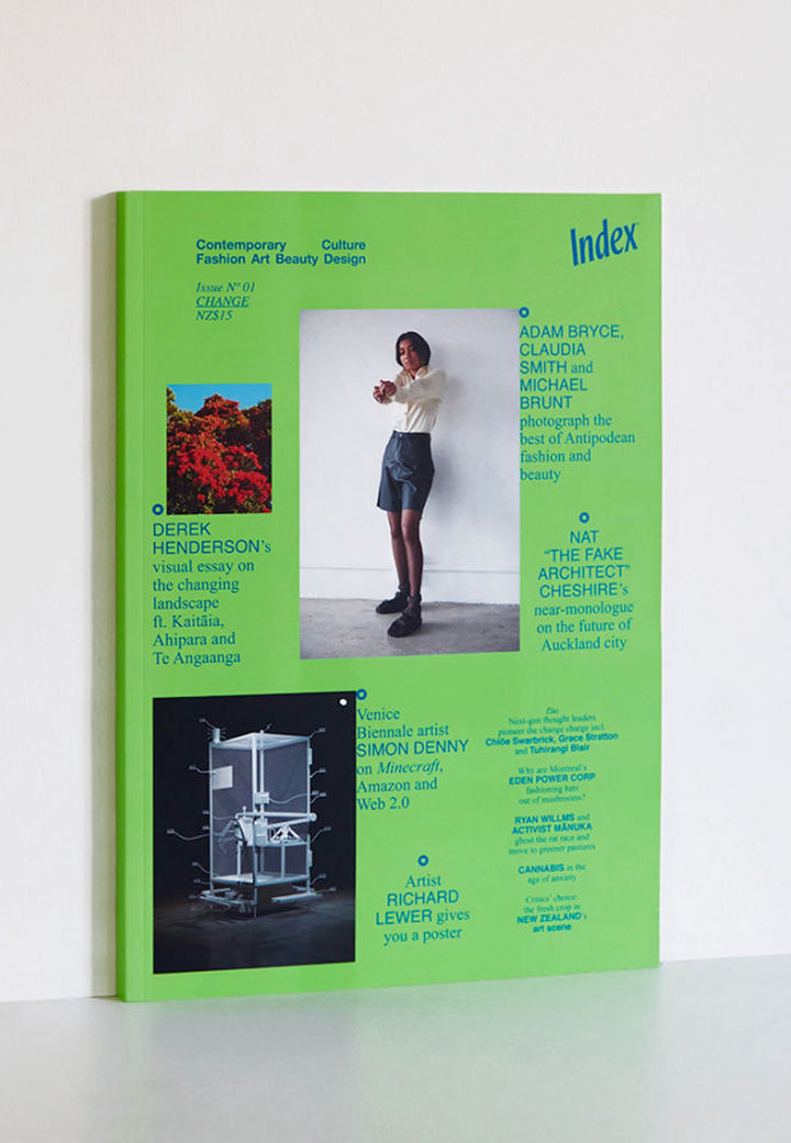 INDEX — Issue Nº01