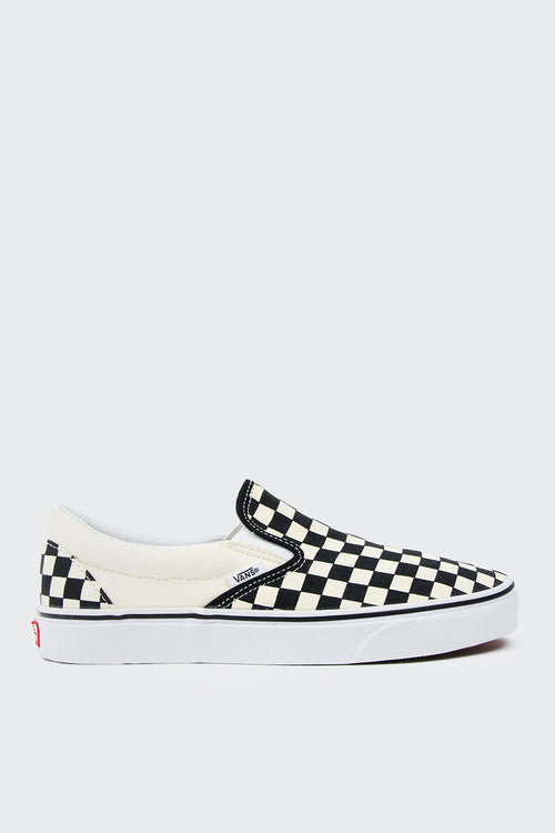Vans Classic Slip-On - black/white/checkerboard | GOOD AS GOLD | NZ