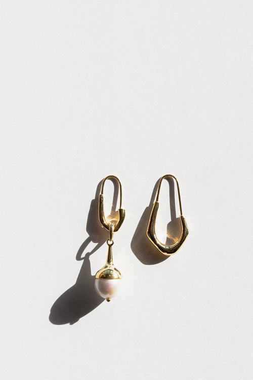 Jasmin Sparrow Lulu Earrings - gold/pearl - Good As Gold