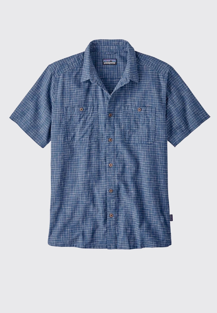Back Step Shirt Trails - stone blue