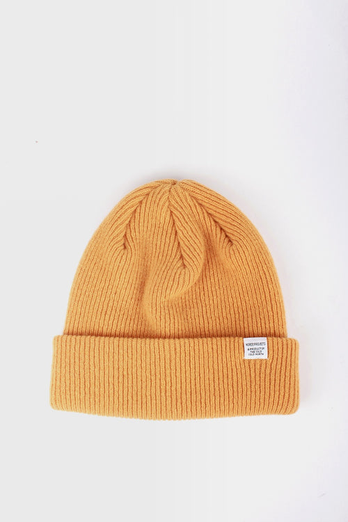 Norse Beanie - sunwashed yellow