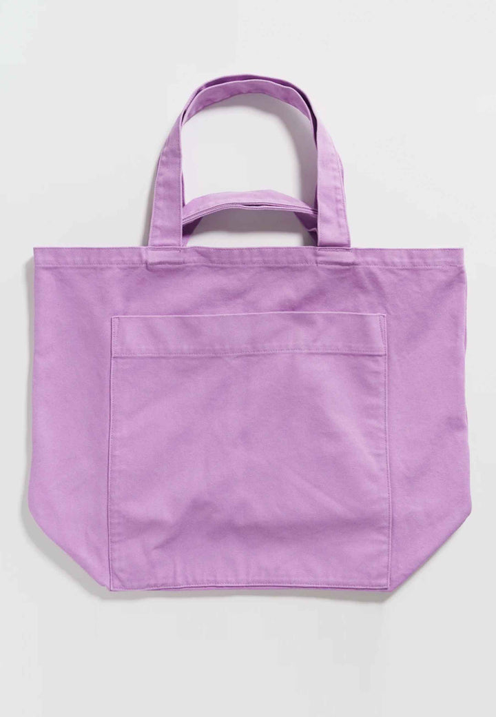 Giant Pocket Tote - mixed berry