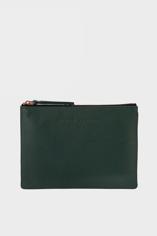 Status Anxiety Treacherous Pouch Wallet - teal - Good As Gold