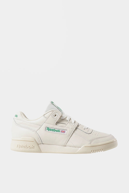 Reebok Workout Lo Plus - vintage chalk/white/glen green — Good as Gold