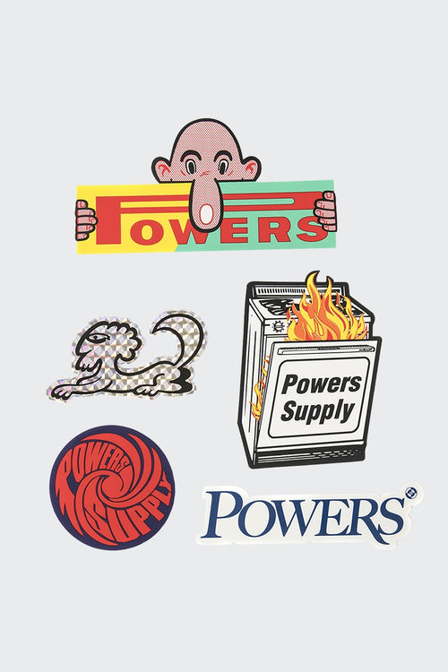 Powers Drop 03 Sticker Pack | GOOD AS GOLD | NZ