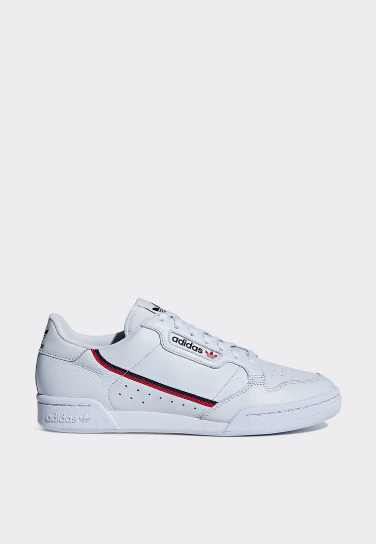 Adidas Continental 80 -  white/scarlet/navy – Good as Gold