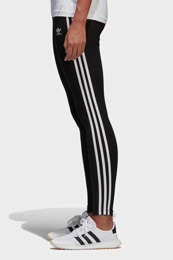 Adidas Originals 3 Stripe Tights - black | GOOD AS GOLD | NZ