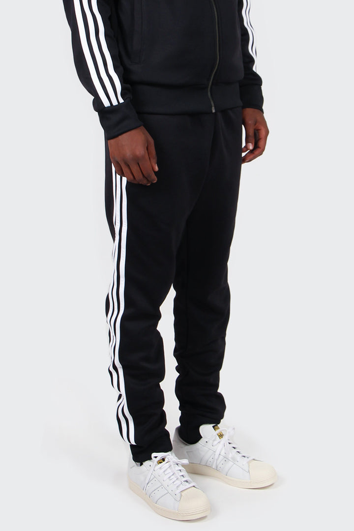 Adidas Originals Superstar Cuffed Track Pants - black | GOOD AS GOLD | NZ