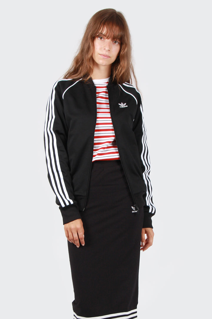 Adidas Originals Superstar Track Jacket - black | GOOD AS GOLD | NZ