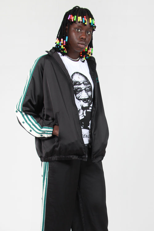 Adidas Originals Track Top Satin - Black – Good as Gold