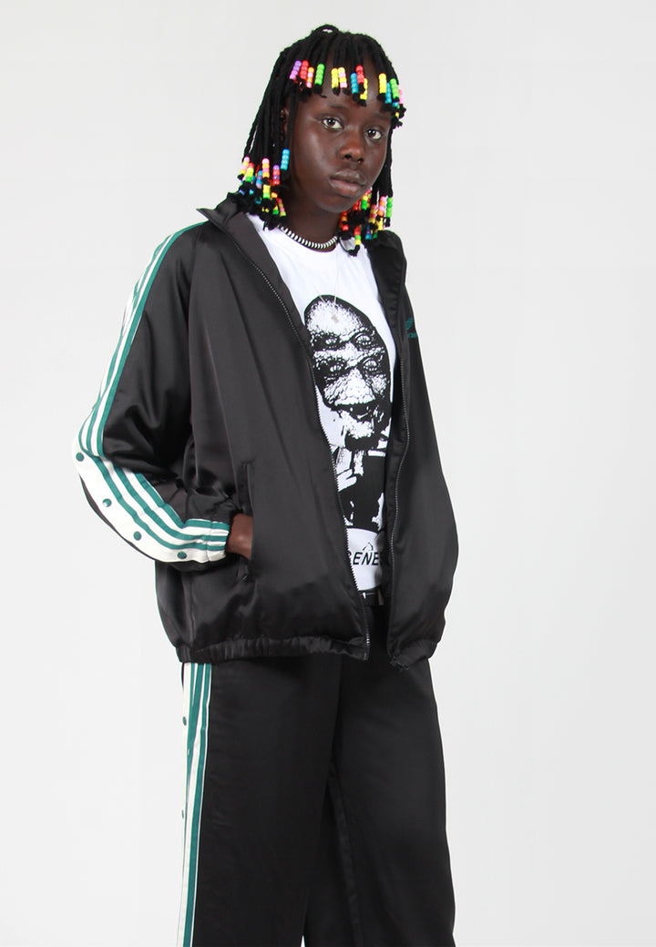 10a061b4 Adidas Originals Track Top Satin - Black – Good As Gold