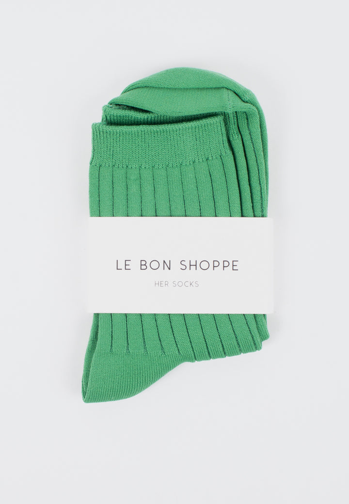 Le Bon Shoppe | Her Socks Solid - Jade | Good As Gold, NZ