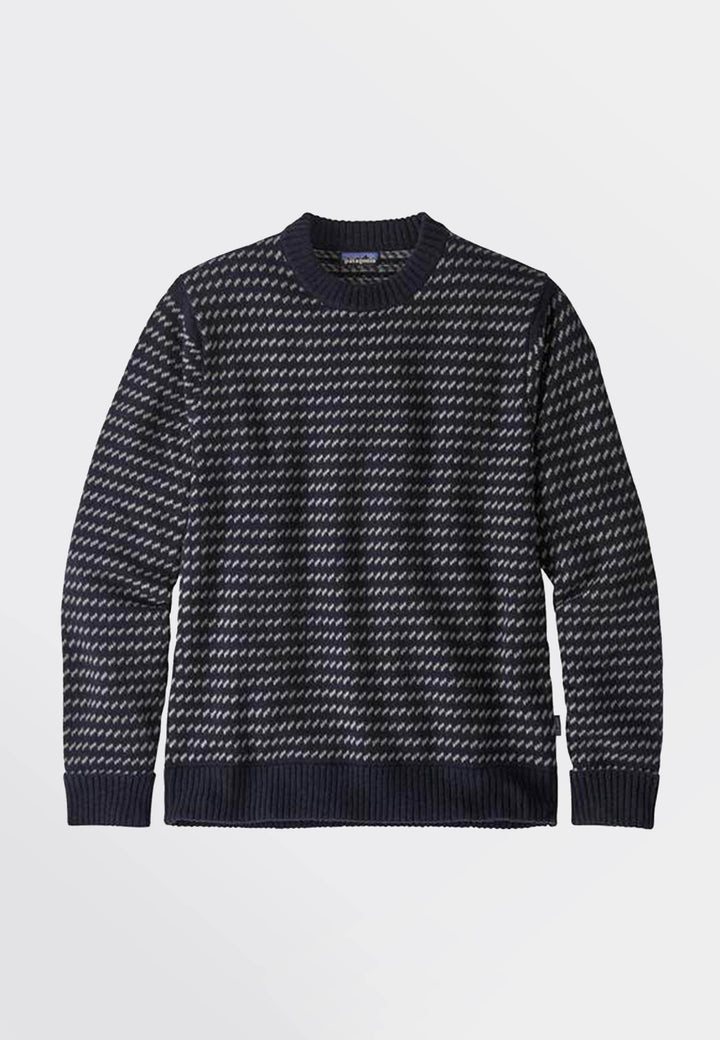 Recycled Wool Sweater - classic navy