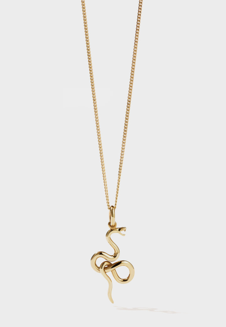 Meadowlark Medusa Necklace - gold - Good As Gold