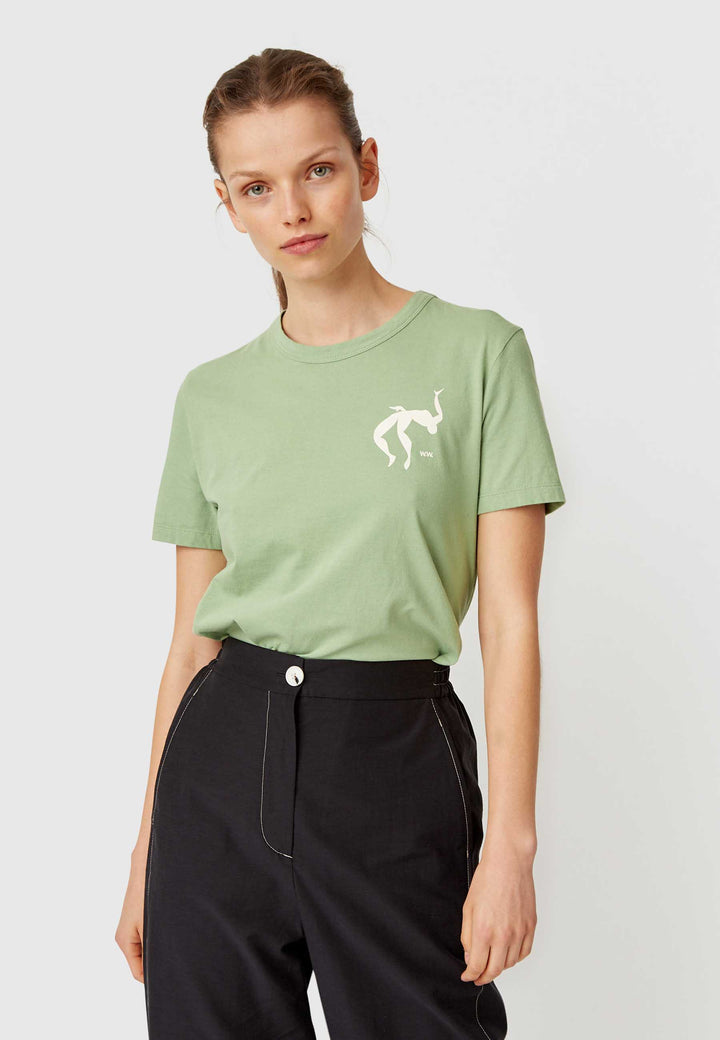 Aria T-Shirt - dusty green