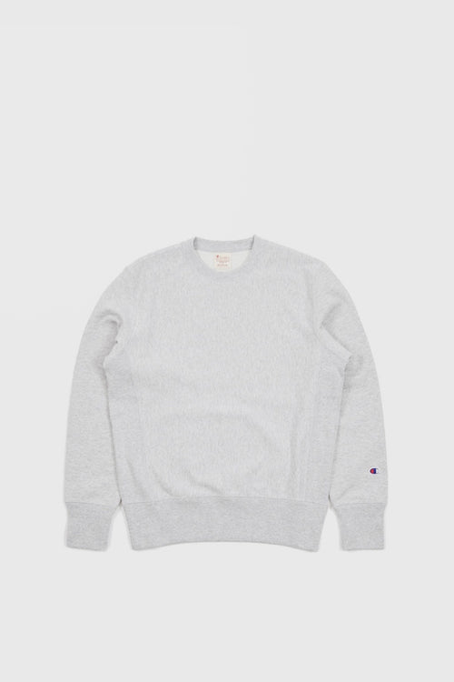 Champion Blank Reverse Weave Crew - oxford grey – Good as Gold