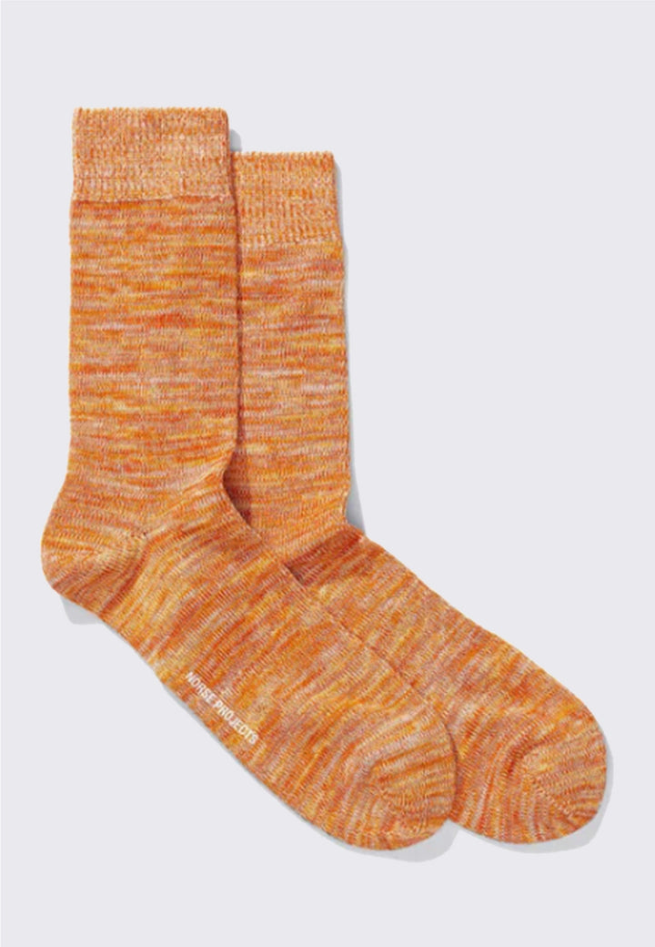 Bjarki Blend Socks - golden orange
