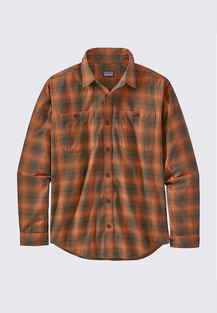 Pima Cotton Shirt - brew desert orange