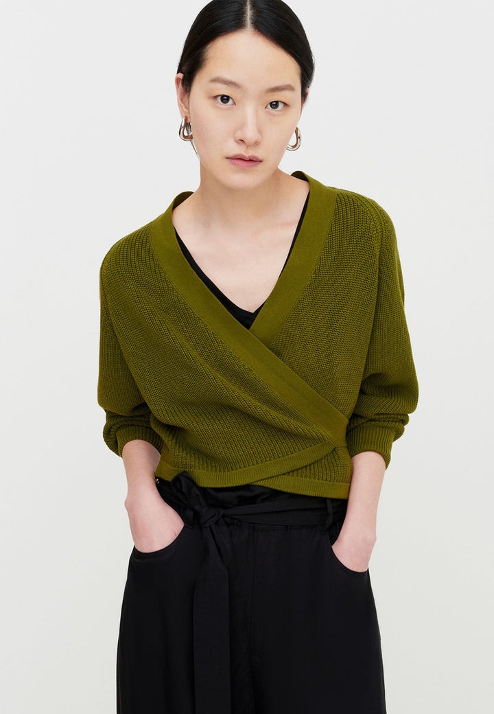 Composure Cardigan - willow