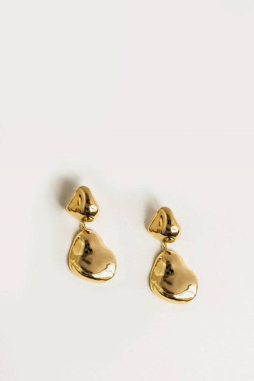 By Nye Lucid Earrings - gold - Good As Gold