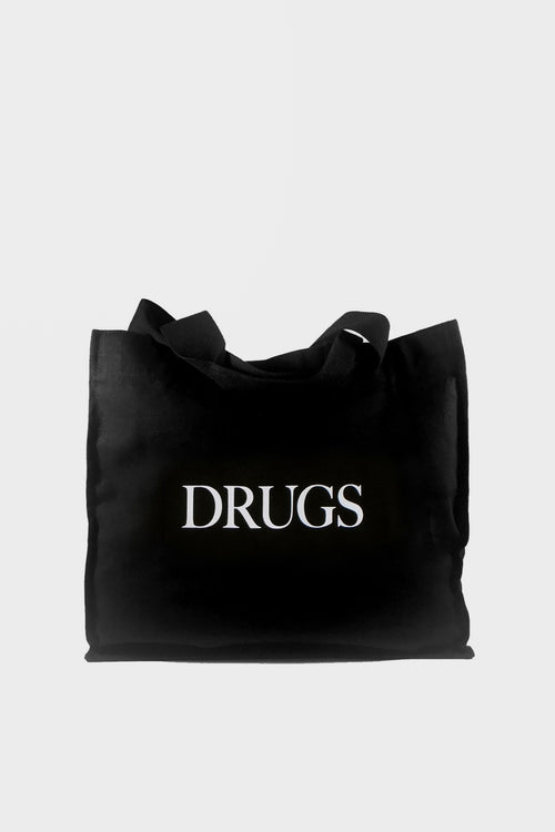 Idea Drugs Tote Bag - black — Good as Gold
