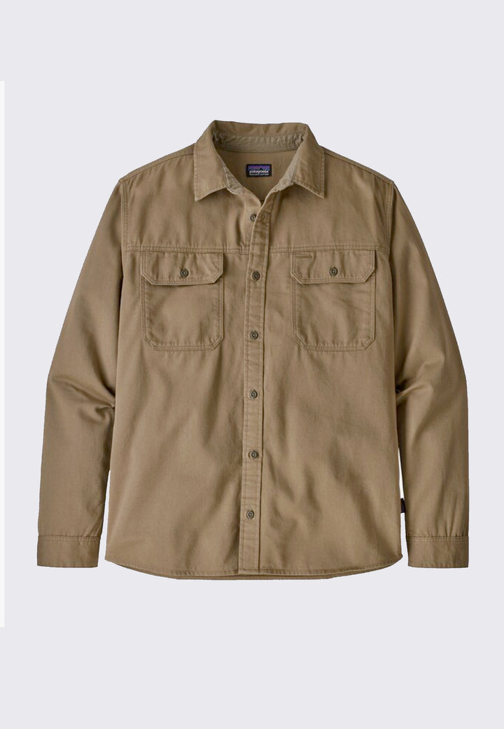 Four Canyons Twill Shirt - mojave khaki