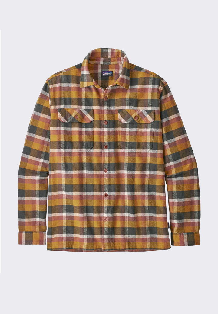Fjord Flannel Shirt - wren gold