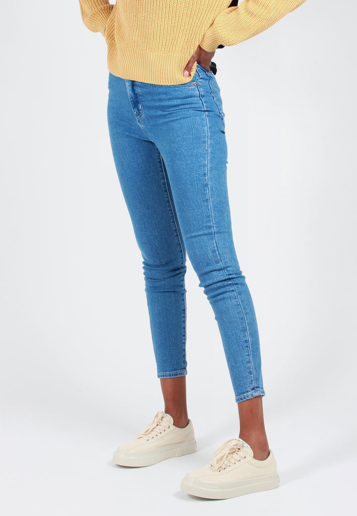 Rollas Eastcoast Ankle Jeans - french blue - Good As Gold