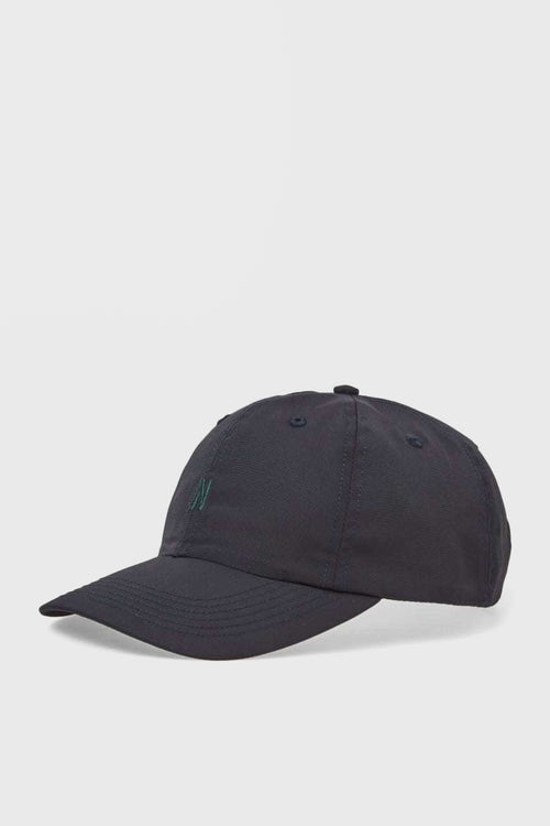 Nylon Oxford Sports Cap - dark navy