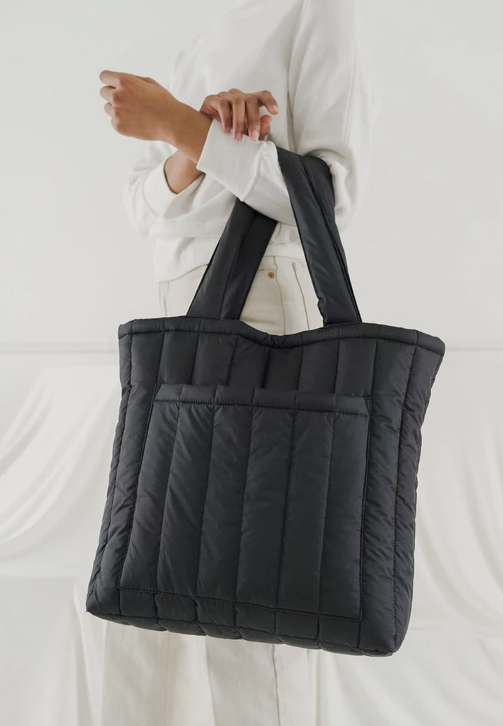 Puffy Tote - black
