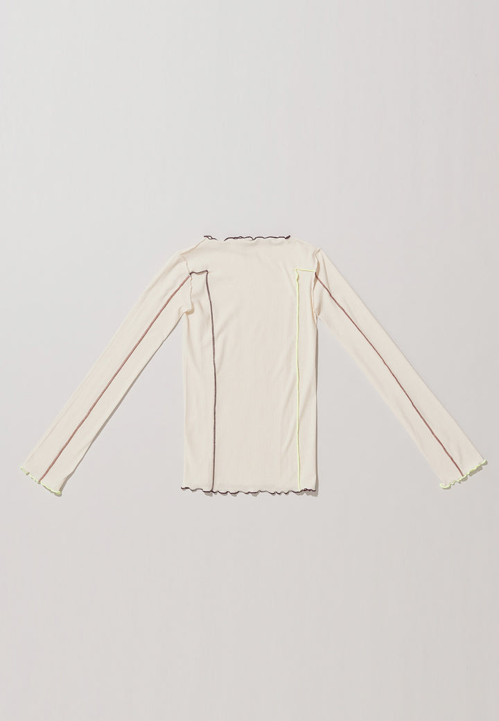 Omato Long Sleeve - off white contrast