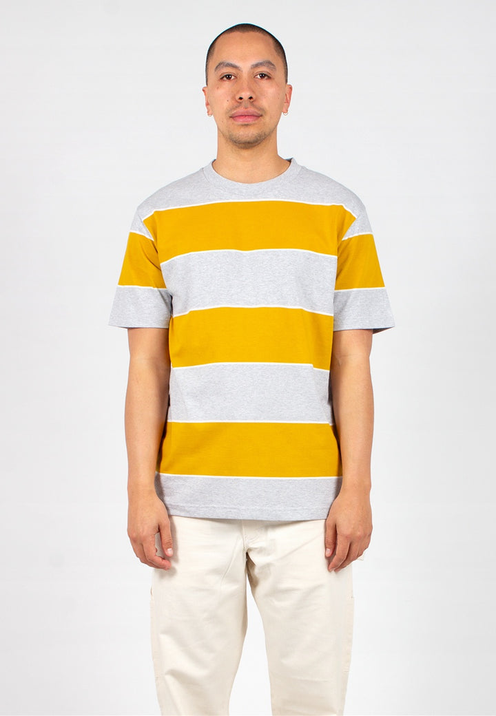 Norse Projects | Johannes 3 Stripe - montpellier yellow | Good As Gold, NZ
