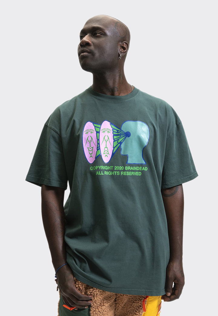 Brain Vision T-Shirt - green