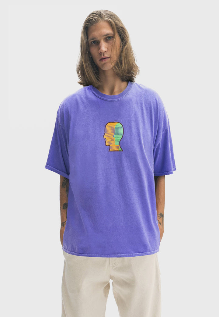 Breathing Problems T-Shirt - purple